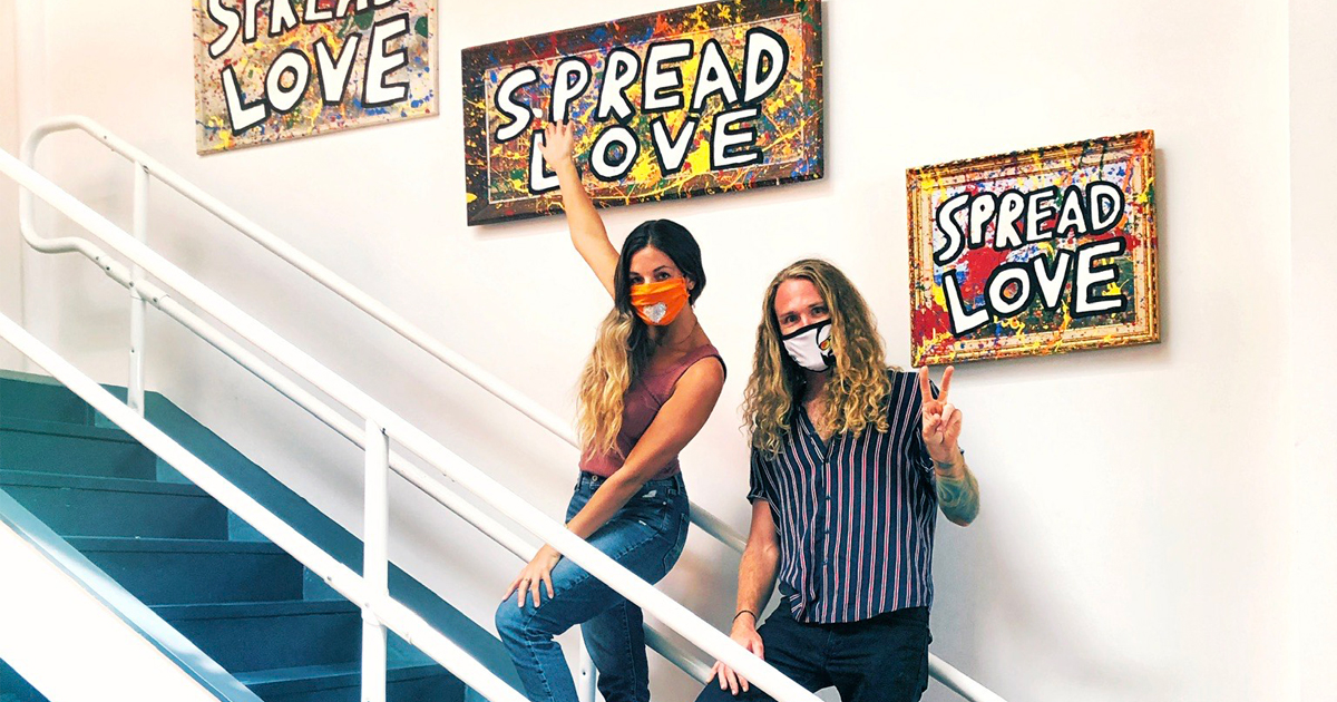 Spread Love: Collaboration with Brandon Thrift
